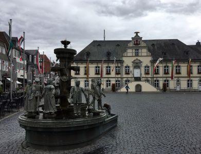 Nasses Rathaus Lippstadt